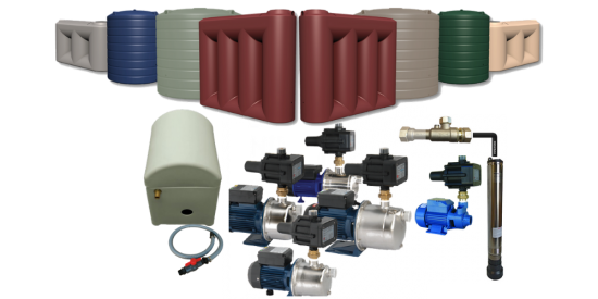 Water Tanks & Pump Packages